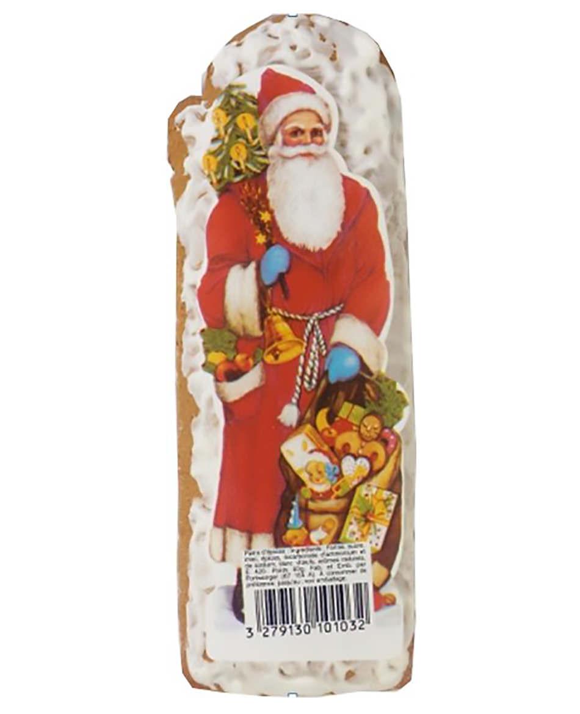 Lebkuchen-Weihnachtsmann, mit Zuckerüberzug
