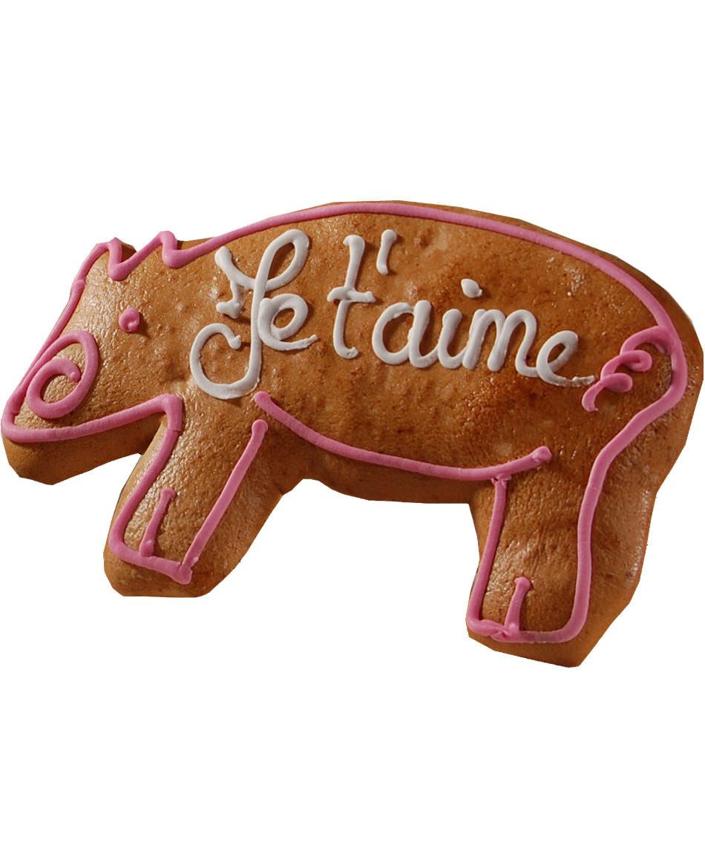 Lebkuchen aus dem Elsass, Schweinchenform