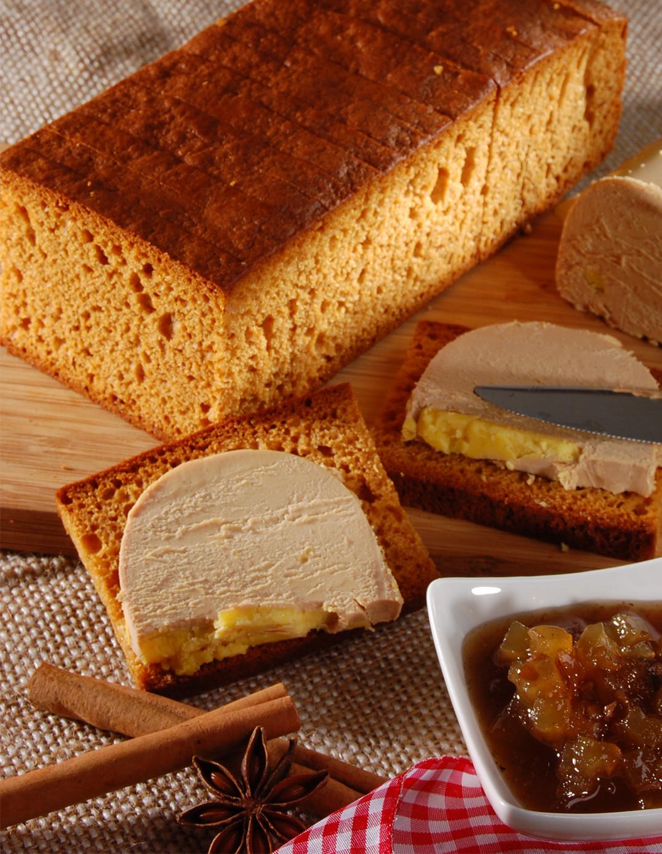 Lebkuchen mit reinem Honig, speziell für Stopfleber