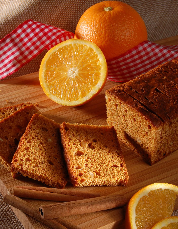 Orangen-Lebkuchen