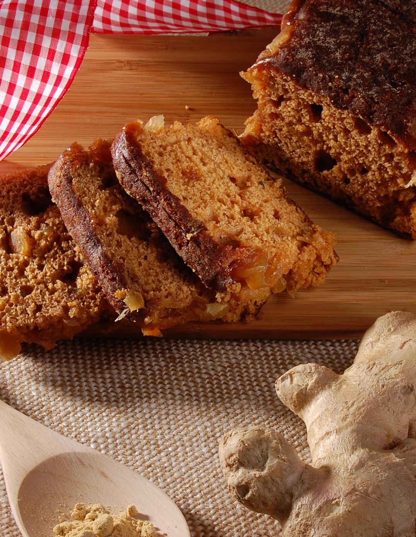 Pavé-Kuchen mit Ingwer
