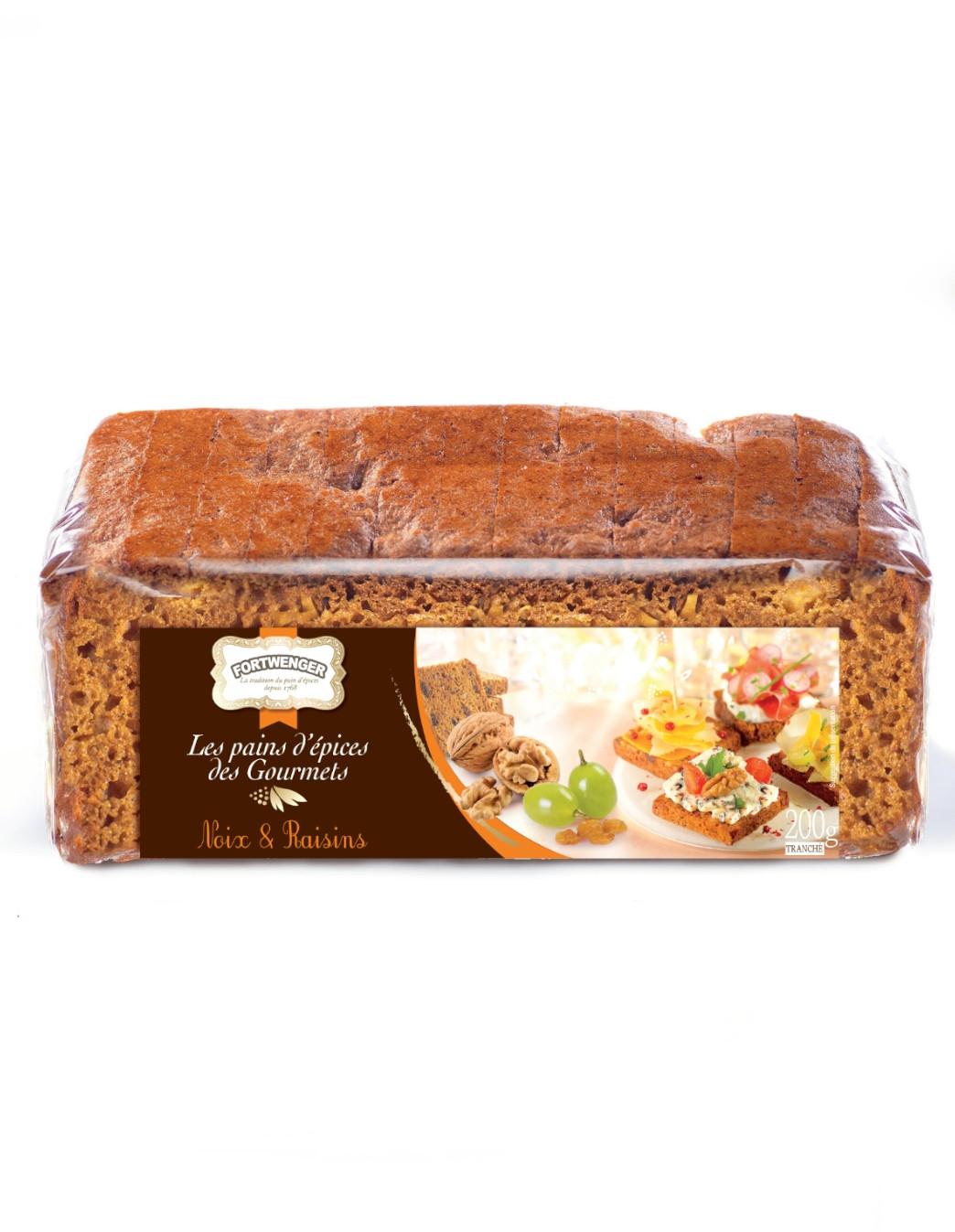 Lebkuchen für Feinschmecker - Trauben und Nussen