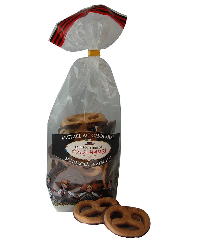 Schokoladenbrezeln aus der Biscuiterie von Onkel Hansi