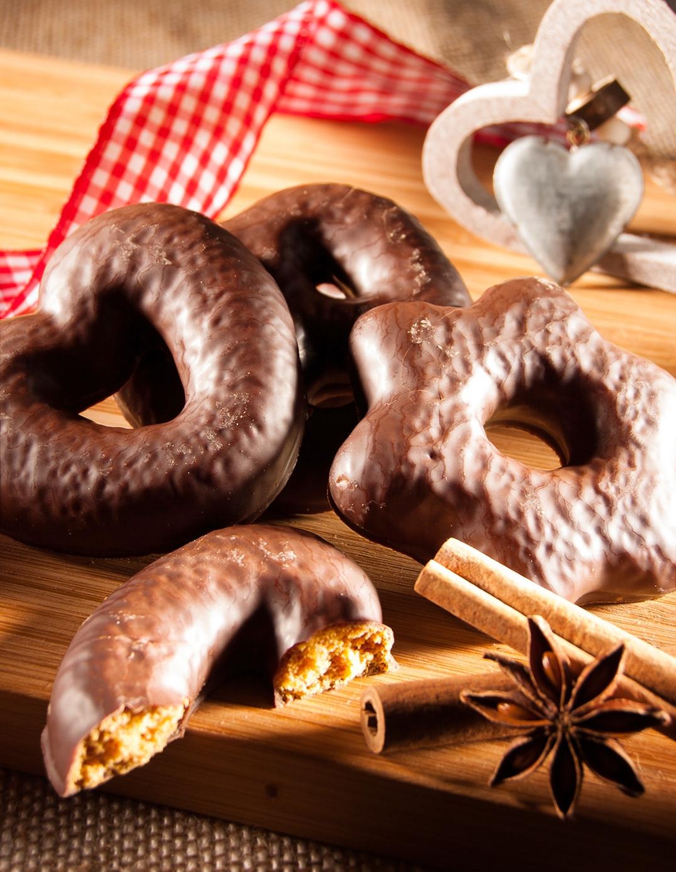 Sortiment - Herzen/Sterne/Brezeln - Milchschokolade
