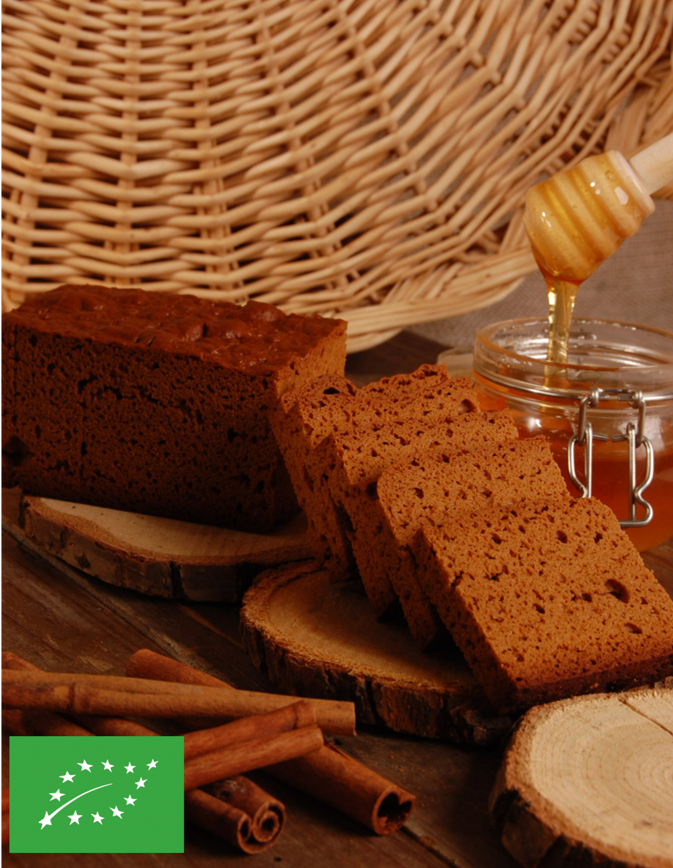 Bio-Lebkuchen – 30% reine Honig