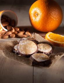 Orange und Marzipan