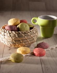 Makronen mit 4 Früchten aus der Biscuiterie von Onkel Hansi