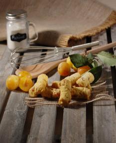 Mini-Stollen mit getrockneten Früchten